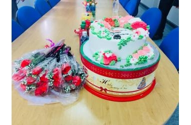 Công đoàn Công ty tổ chức 20-10 cho chị em Phụ nữ trong Công ty.